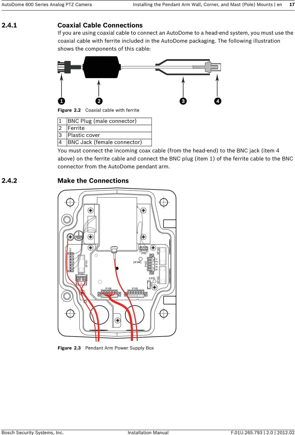 medium resolution of autodome ptz camera wiring diagram