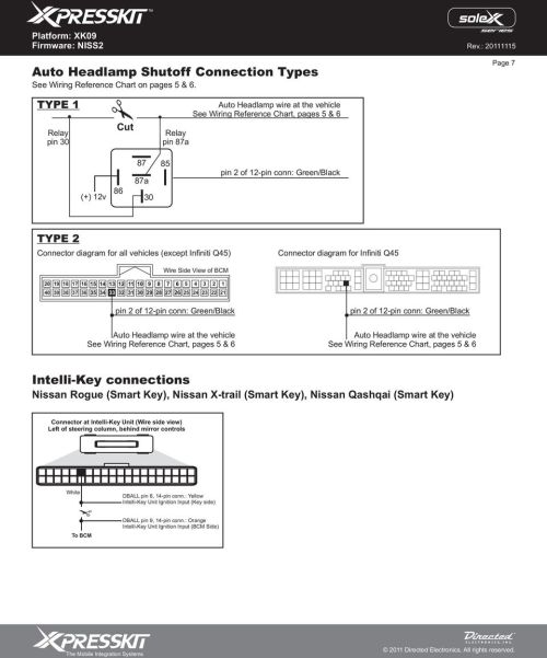 small resolution of diagram for all vehicles except infiniti q45 connector diagram for infiniti q45 wire side