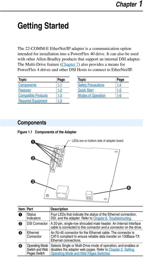 small resolution of the multi drive feature chapter 7 also provides a means for powerflex 4