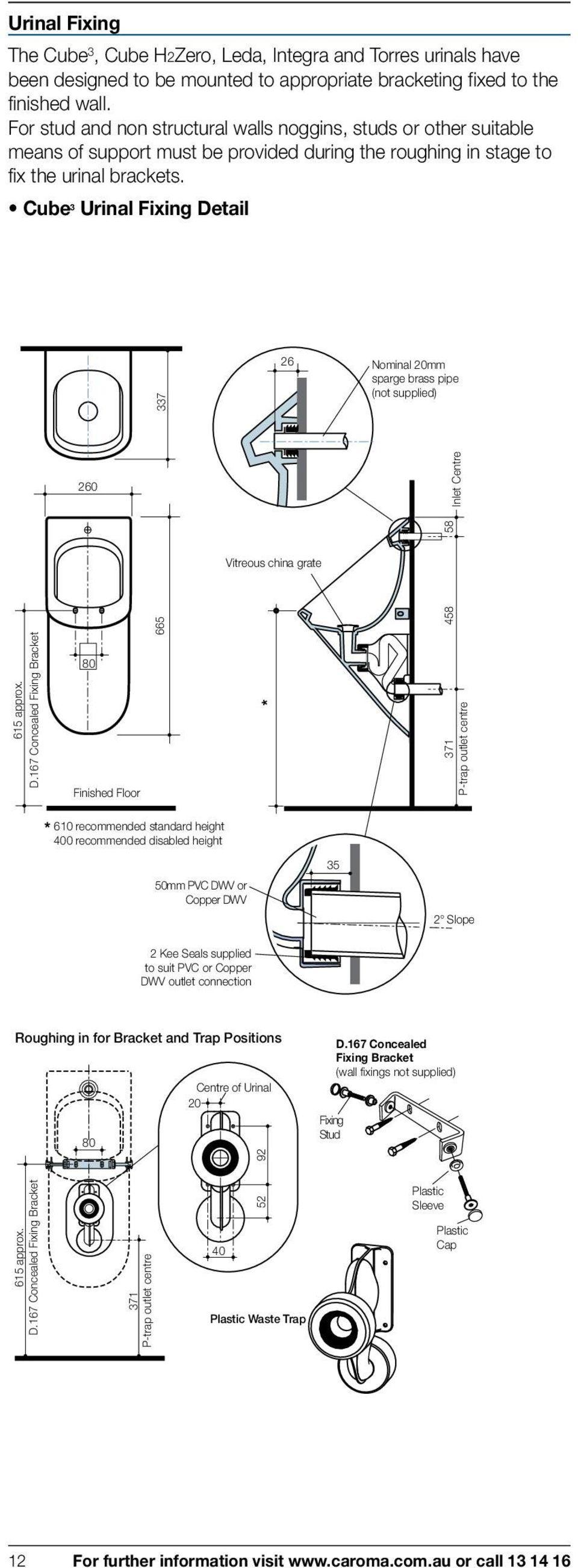hight resolution of cube 3 urinal fixing de