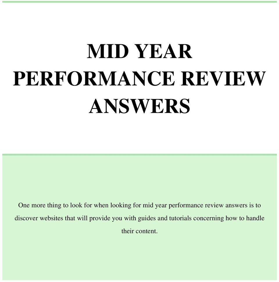 How To Write A Year End Performance Review As Human Resource, Professional  Writing Performance Reviews
