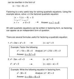 QUADRATIC EQUATIONS AND FUNCTIONS - PDF Free Download [ 1577 x 960 Pixel ]