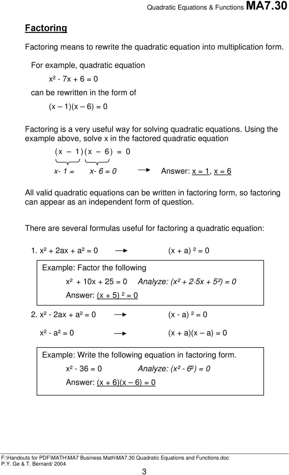 hight resolution of QUADRATIC EQUATIONS AND FUNCTIONS - PDF Free Download