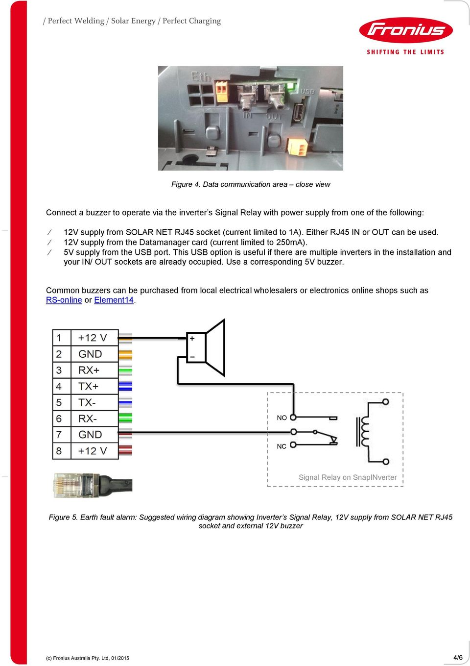 hight resolution of 1a either rj45 in or out can be used 12v supply from the