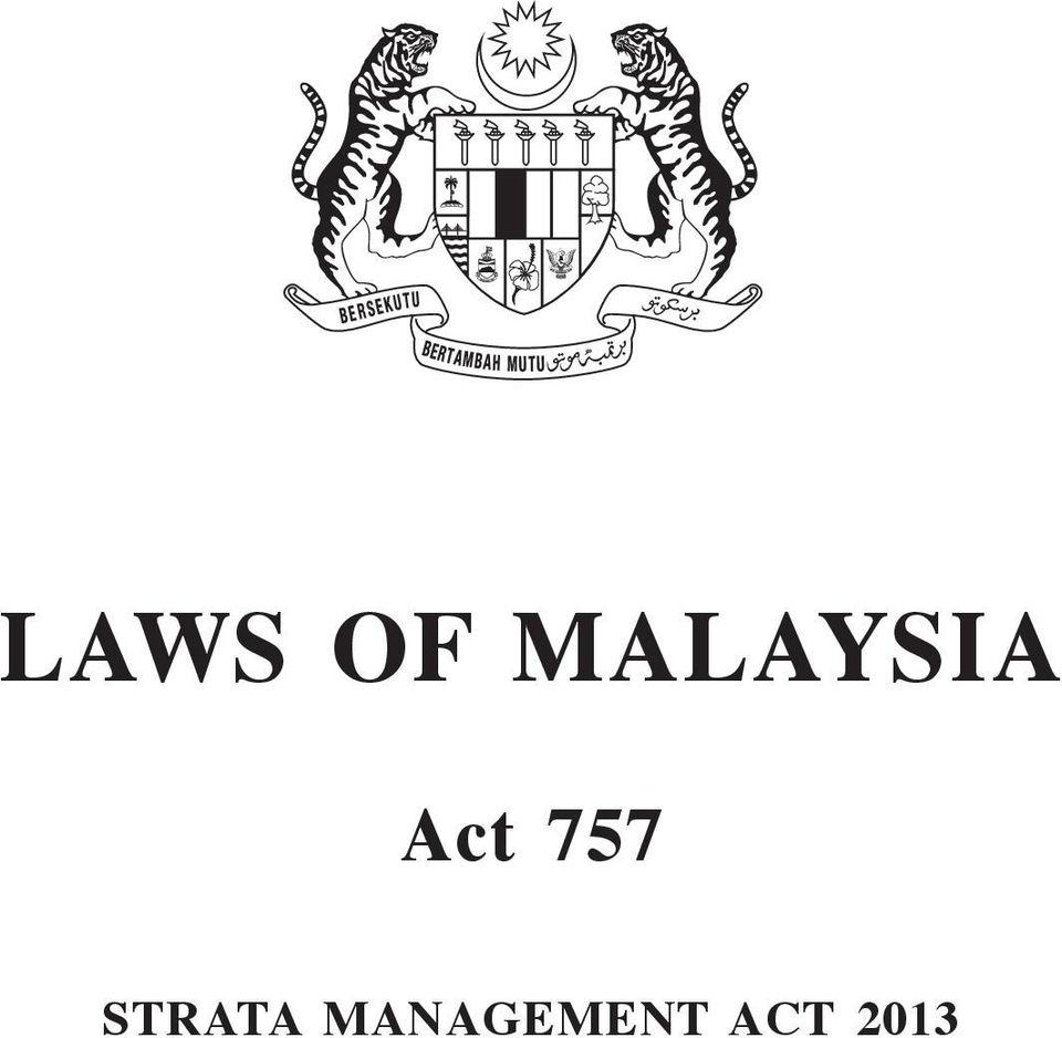 Strata Management 1. strata management act PDF