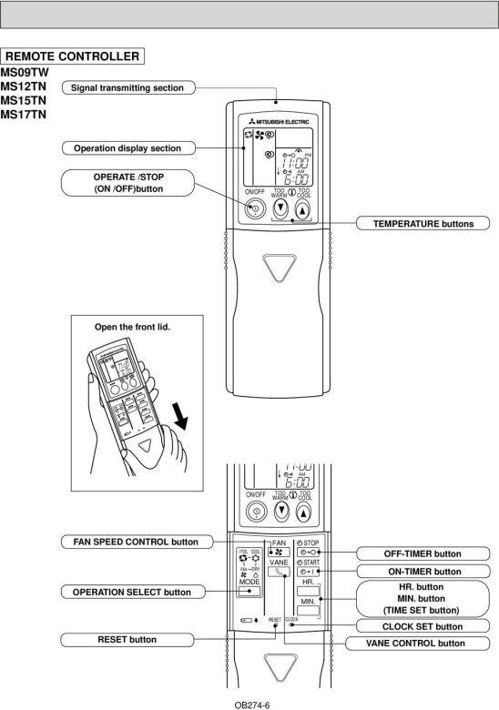 Mitsubishi Electric Heat Pump Modes