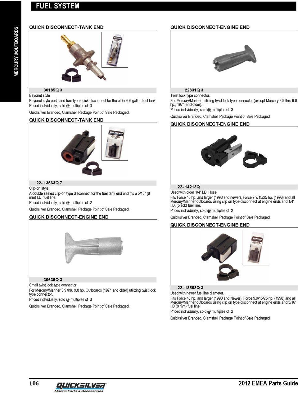 medium resolution of for mercury mariner utilizing twist lock type connector except mercury 3 9 thru 9 8 hp