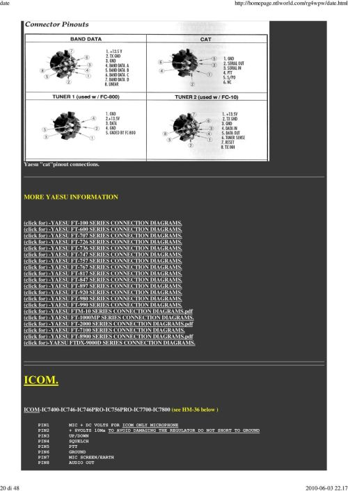 small resolution of  click for yaesu ft 747 series connection diagrams click for