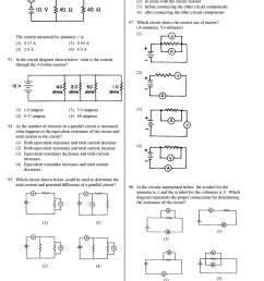 to obtain a correct reading the student must connect the voltmeter in parallel with the [ 960 x 1213 Pixel ]