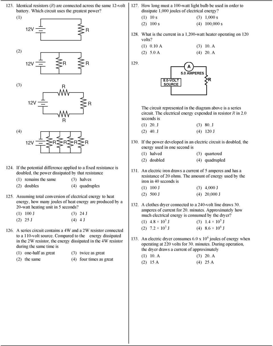 medium resolution of what is the current in a 1 200 watt heater operating on 120 volts 0 10