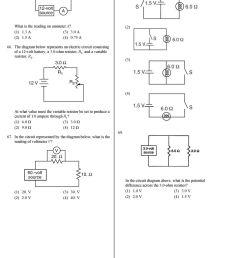 the diagram below represents an electric circuit consisting of a 12 volt battery a [ 960 x 1213 Pixel ]