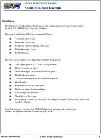 LRFD Design Example #1: - PDF