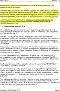 Publication 1075 Tax Information Security Guidelines For ...