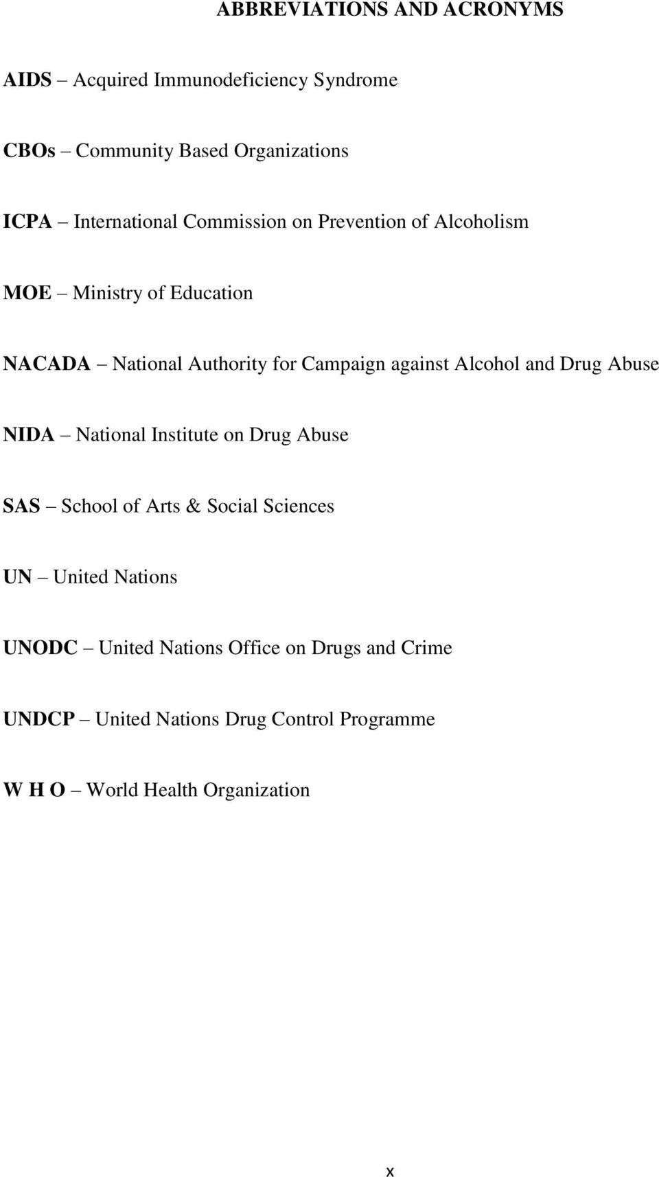 Essay On Drug Abuse Influence Of Drug Abuse On Students Academic