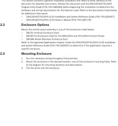 review this document and the d9412gv4 d7412gv4 program entry guide p n  [ 960 x 1405 Pixel ]