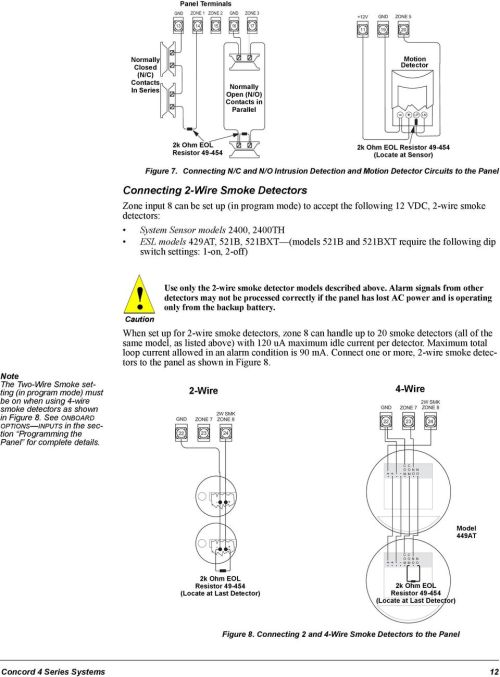 small resolution of concord 4 series security systems pdf49 454 locate at sensor figure 7