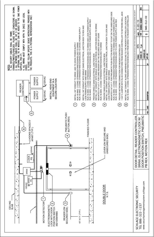 small resolution of 14 sms wiring portfolio section 3 mortise lock diagrams wiring details for the reader controller and the srinx reader interface diagram page sms ml1 w1