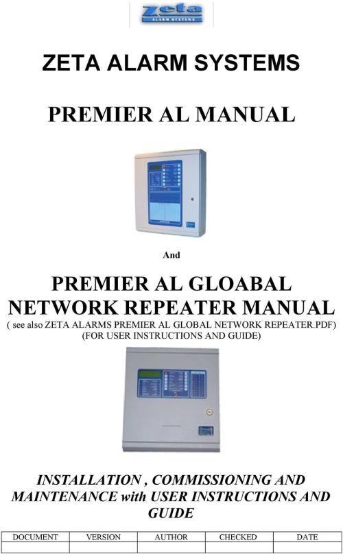 small resolution of zeta addressable fire alarm system wiring diagram zeta alarm systems premier al manual pdfrh