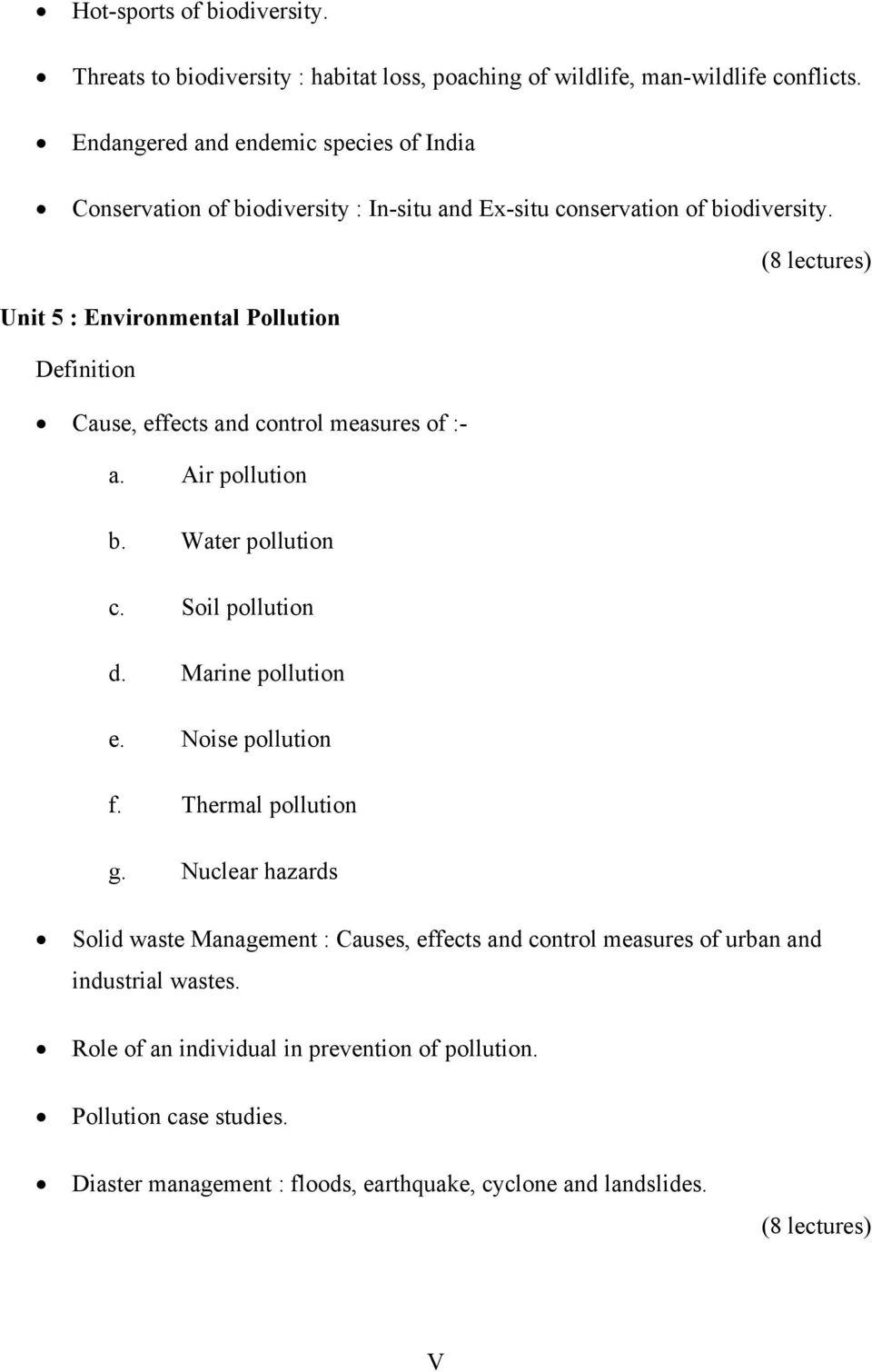 Environmental Studies For Undergraduate Courses Erach