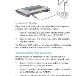 connect the short end of the cable to the dsl socket of the dsl splitter  [ 960 x 1572 Pixel ]