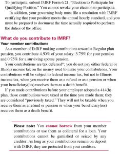In addition your governing body must file  resolution with imrf certifying that position also benefits under the regular plan tier illinois rh docplayer