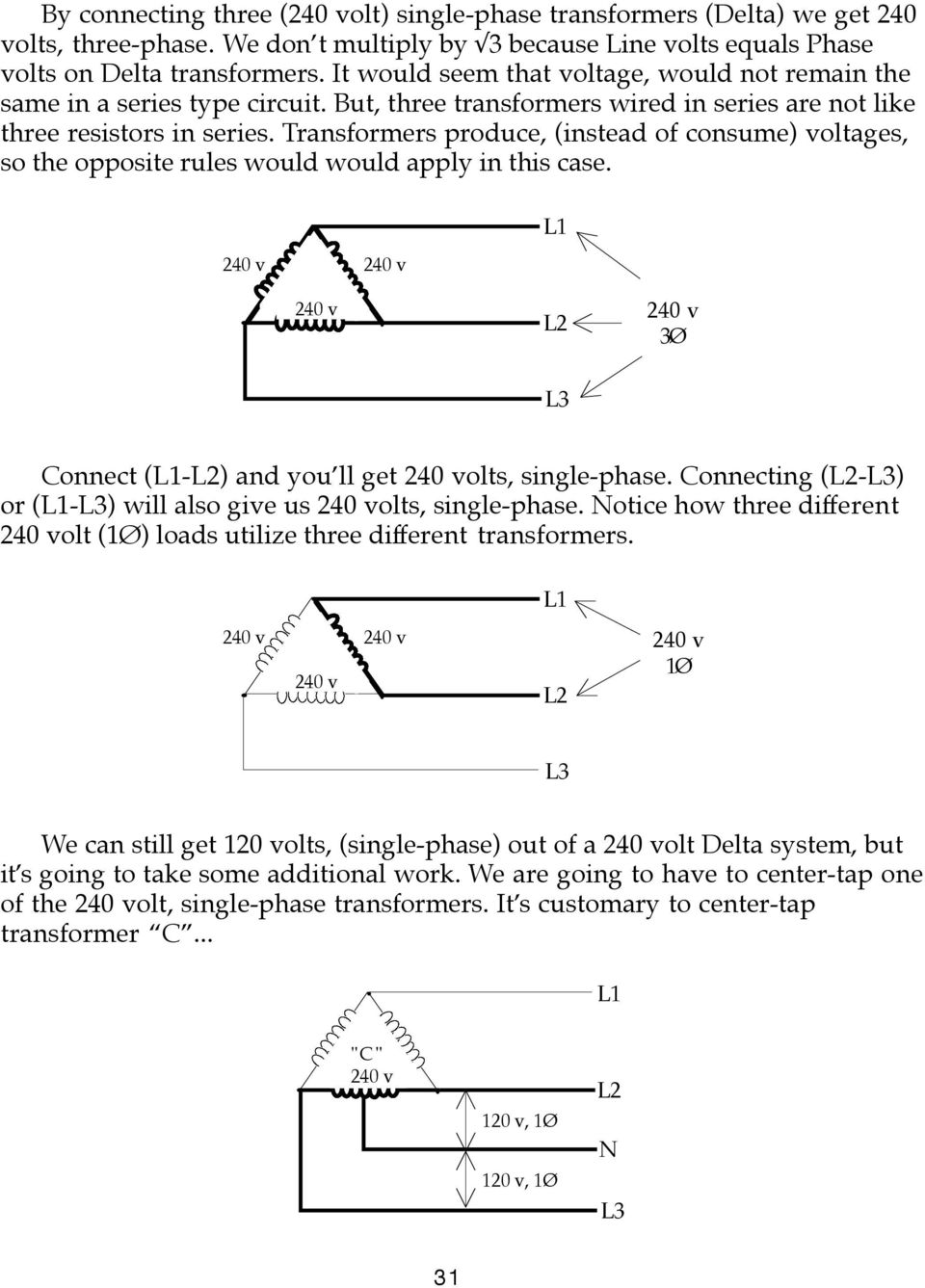 hight resolution of transformers produce instead of consume voltages so the opposite rules would would