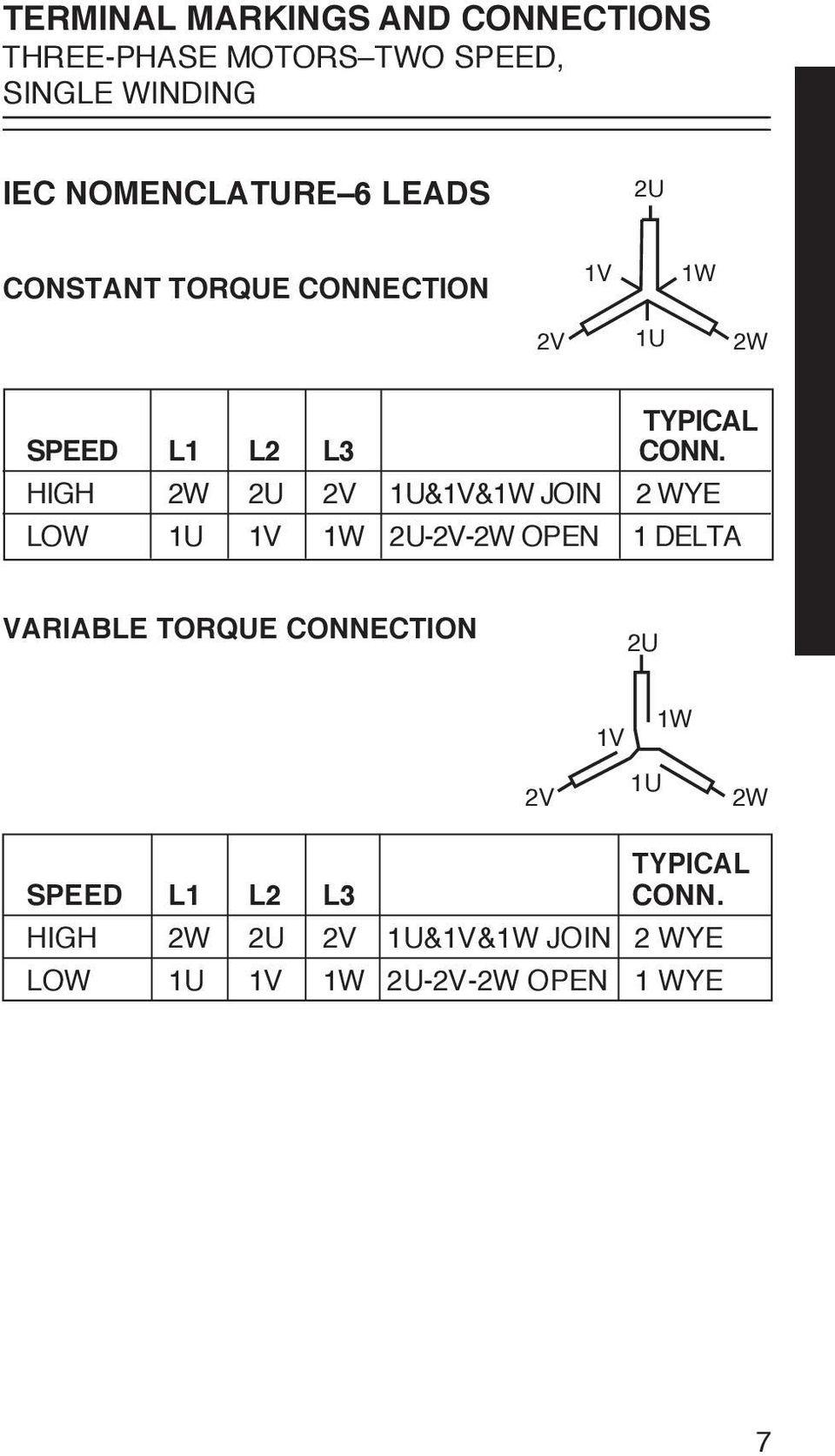 hight resolution of high w u v u v w join wye low u v w u v w open delta variable torque connection u v w