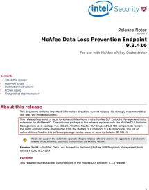Mcafee Epo Version - Year of Clean Water