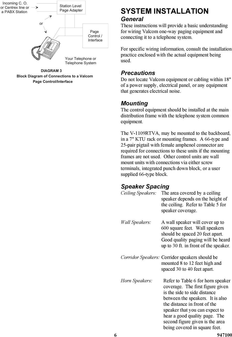 medium resolution of valcom one way paging system design information pdf