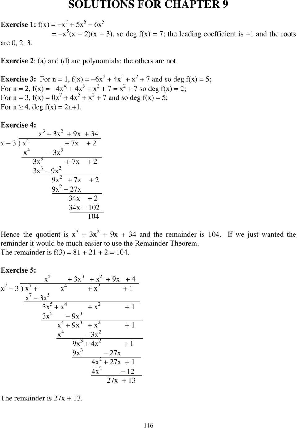 9 polynomials example 1