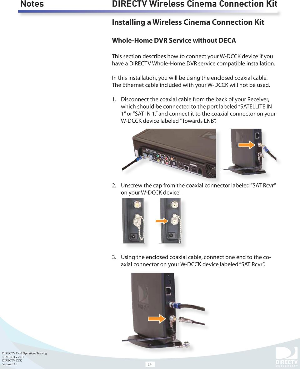medium resolution of disconnect the coaxial cable from the back of your receiver which should be connected to