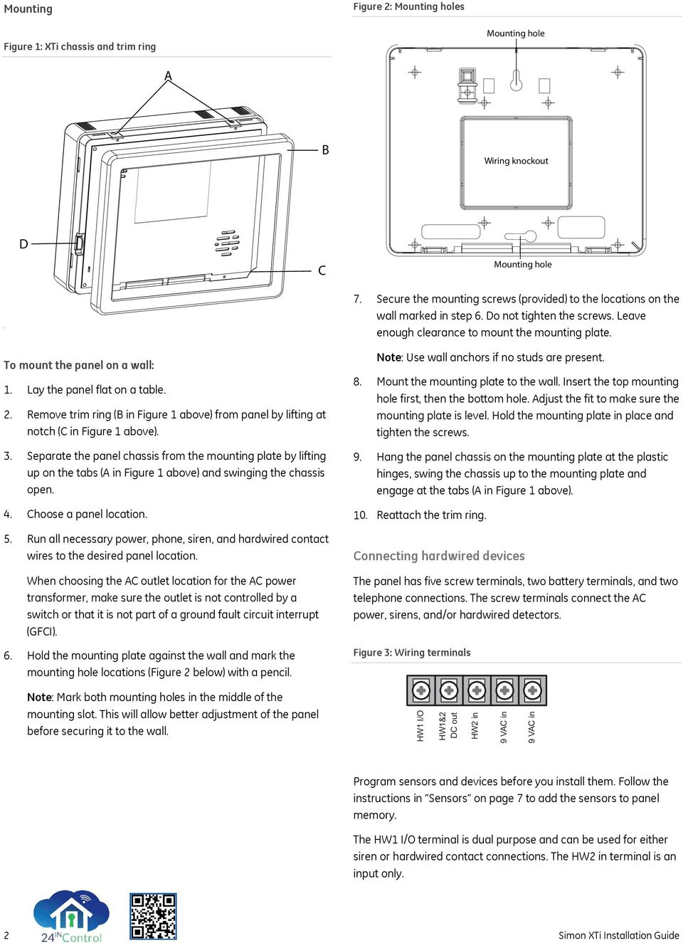 hight resolution of lay the panel flat on a table 2 remove trim ring b in