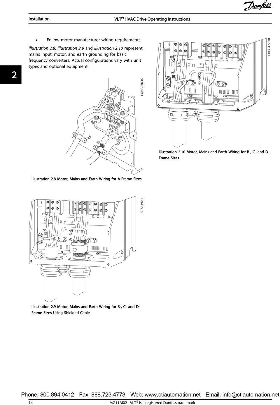 hight resolution of danfoss vlt hvac wiring diagram operating instructions vlt hvac drive fc 102 kw