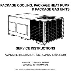 amana iowa 52204 manufacturing numbers covered in this manual 2 index product identification specifications accessories package cooling  [ 960 x 1351 Pixel ]