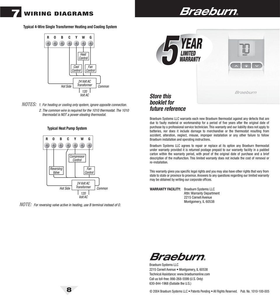 medium resolution of braeburn thermostat wiring diagram