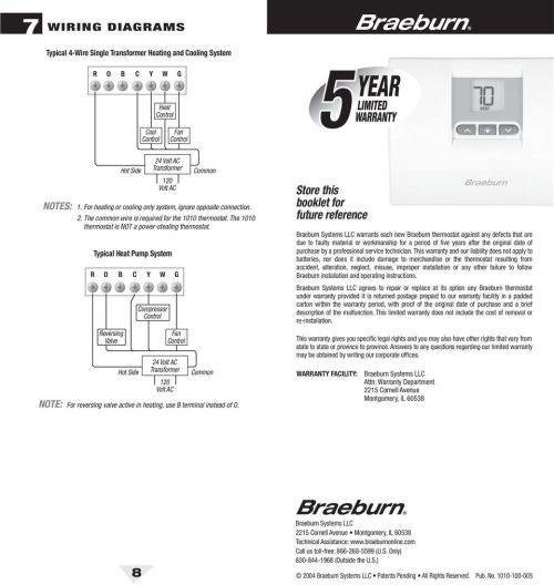 small resolution of braeburn thermostat wiring diagram