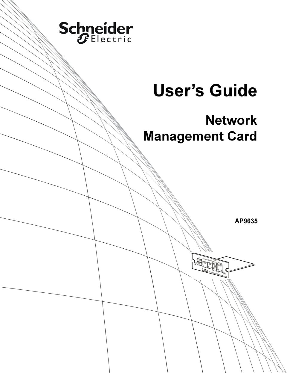 User s Guide. Network Management Card AP PDF