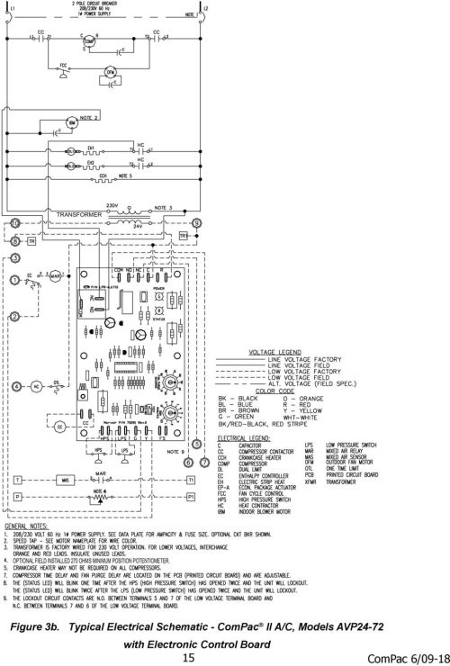small resolution of compac i and compac ii air conditioner product manual pdf payne wiring diagram marvair wiring diagram