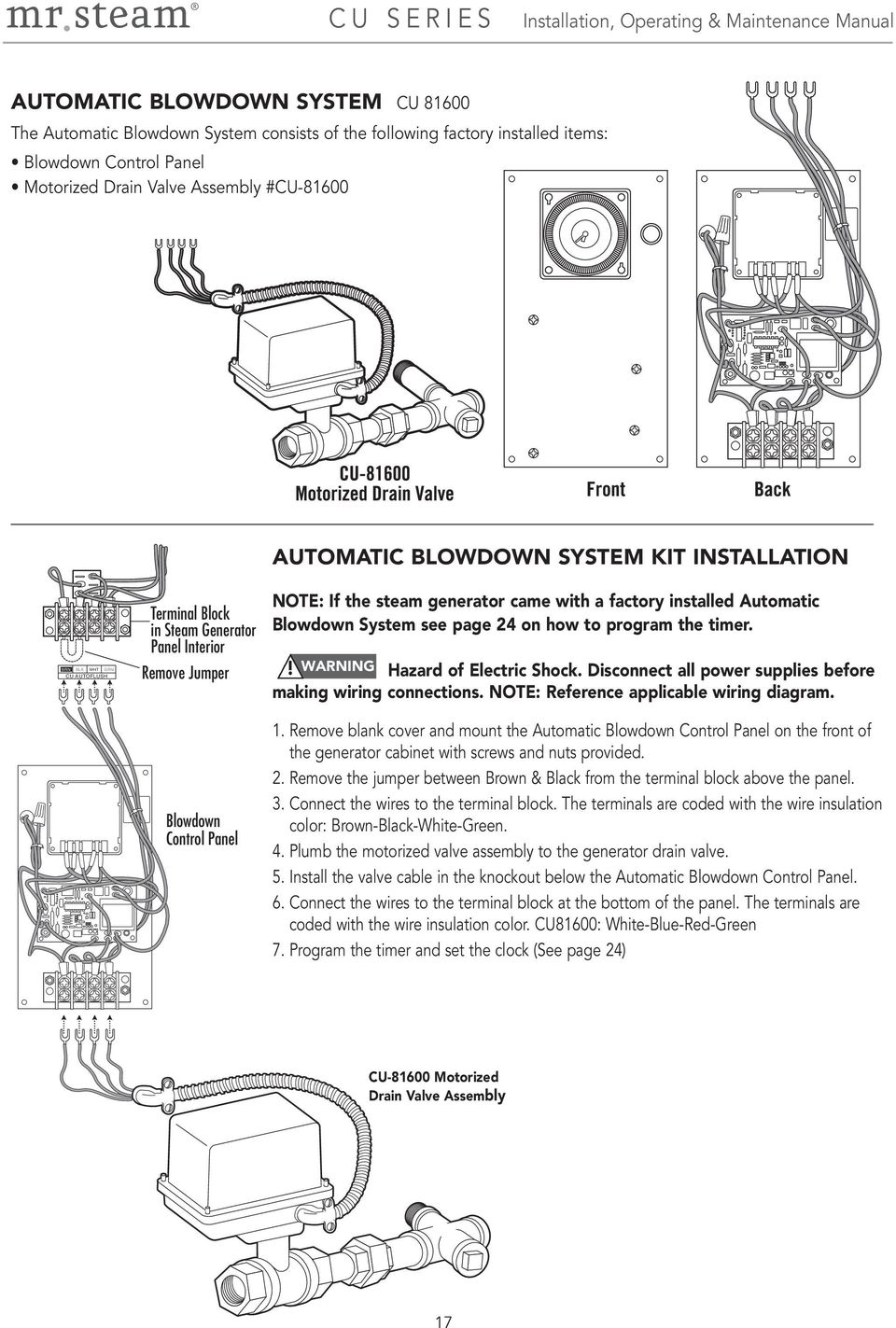 hight resolution of mr steam wiring diagram wiring diagram repair guidesinstallation operation u0026 maintenance manual mr