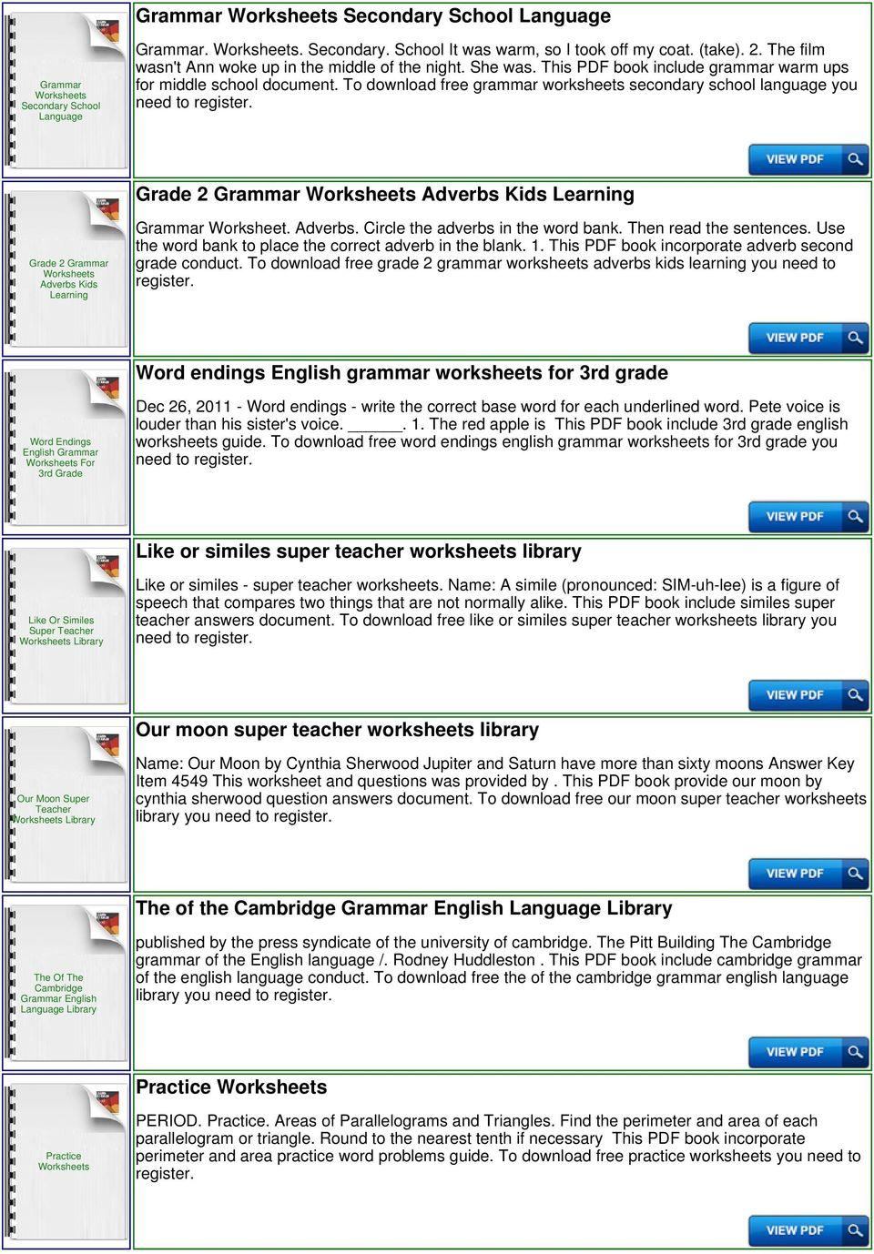 medium resolution of Esl Library Grammar Practice Worksheets - PDF Free Download