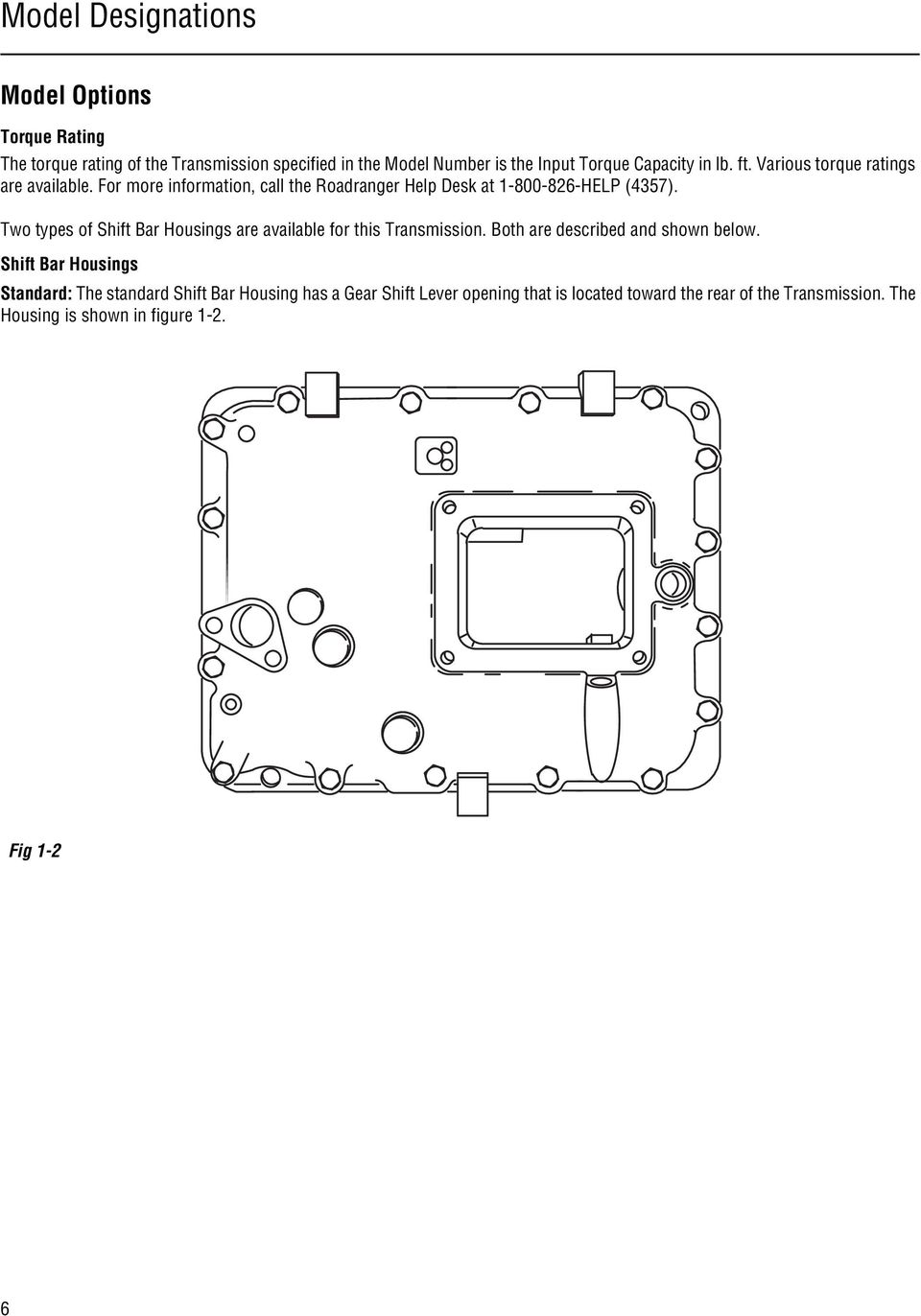 hight resolution of two types of shift bar housings are available for this transmission both are described and