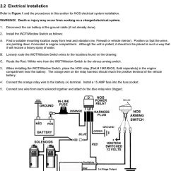 Nitrous Wiring Diagram With Window Switch How To Cut Up A Pig Wide Open Throttle Rpm Activated 2 Stage Shift The User Can Then View Engine Speed Tps Position And Arming Activation