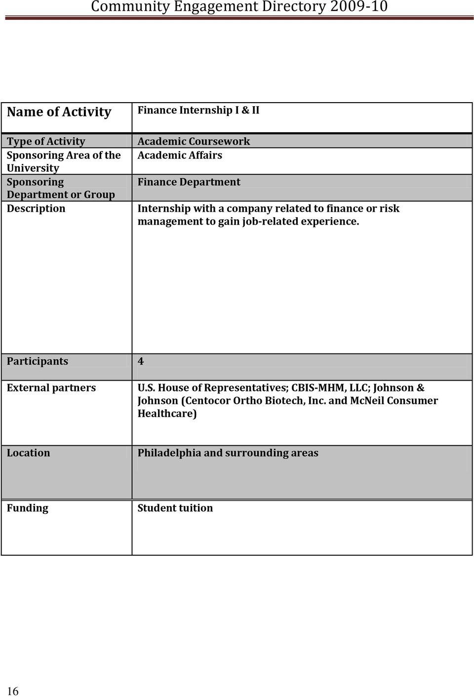 Finance Internship Morgan Stanley | Administrative Logistics