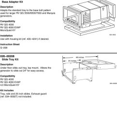 403 3630 instruction sheet g 208 026 00208 slide tray kit under floor slide out tray [ 960 x 1399 Pixel ]