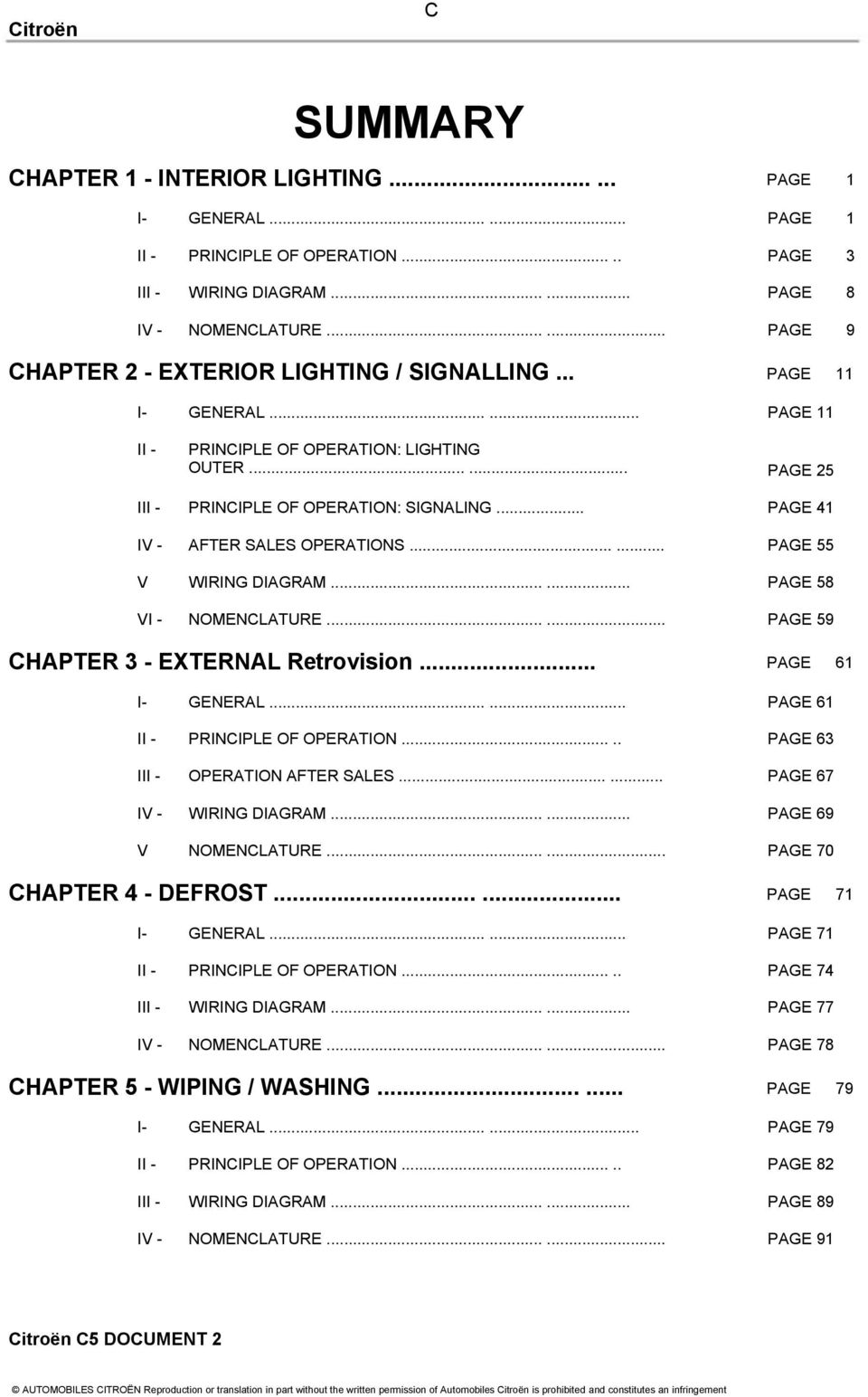 hight resolution of citroen c5 document 2 pdf wiring diagram