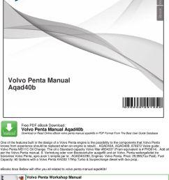 the oil o standard capacity volvo filter 834337 fram equivalent is ph3614 volvo penta manual  [ 960 x 1315 Pixel ]