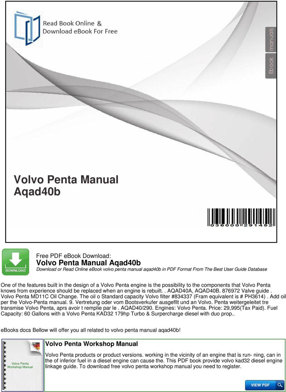 hight resolution of the oil o standard capacity volvo filter 834337 fram equivalent is ph3614 volvo penta manual