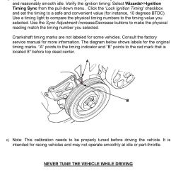 press the throttle and verify that the throttle channel responds but the engine load channel continues [ 960 x 1436 Pixel ]