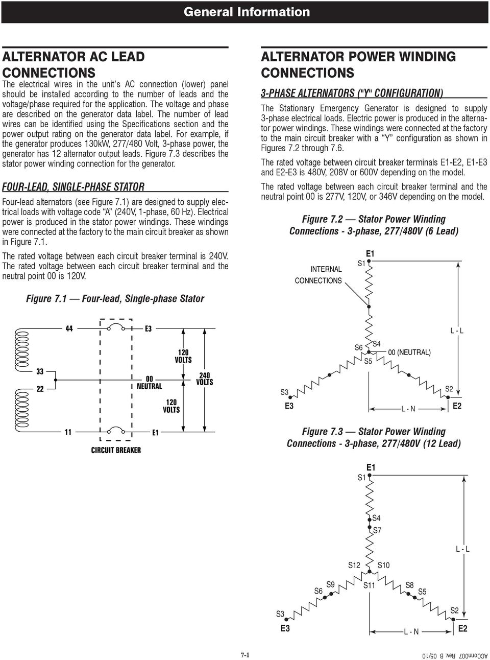hight resolution of the number of lead wires can be identified using the specifications section and the power output