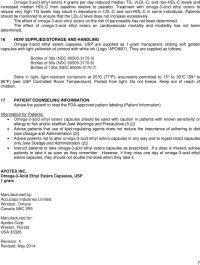 OMEGA-3-ACID ETHYL ESTERS Capsules, USP for oral use ...